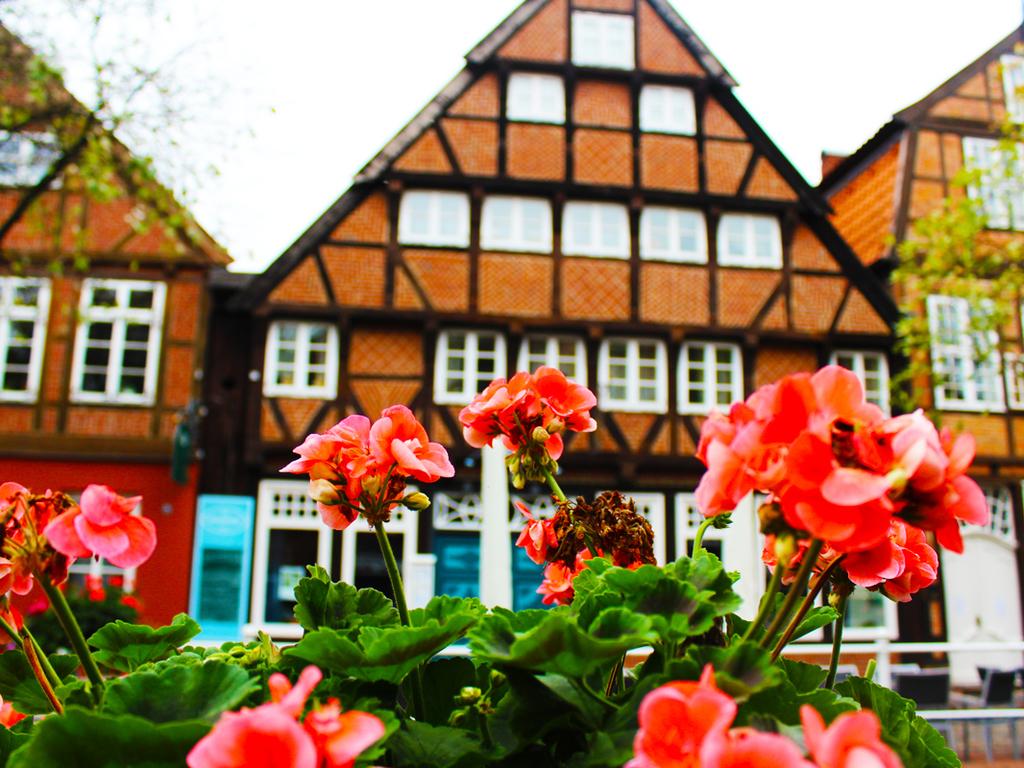 Fachwerkhäuser in Buxtehude